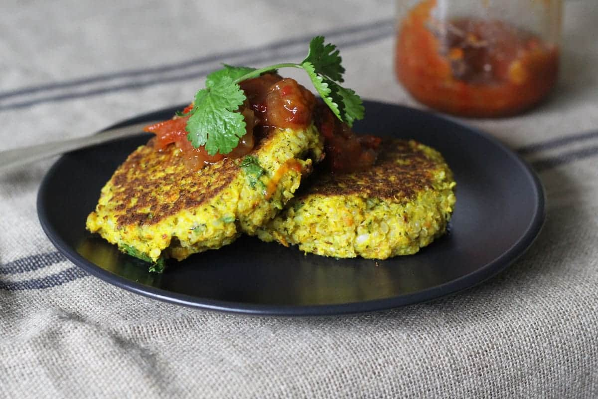 Vegetable-quinoa-fritters